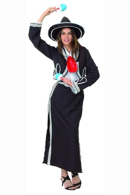 Déguisement De Mariachi Mexicaine Et Une Gamme De Costumes Sur Le Mexique