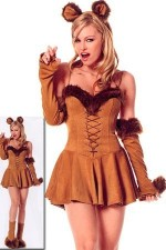 Costume de lion Lingerie caline