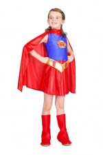 Costume Super Héros Fille