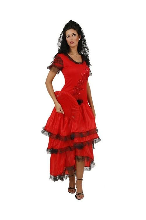 Costume Espagnol Femme Andalouse