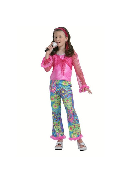 deguisement chanteuse fille ann es 60 et autres costumes enfants pas cher. Black Bedroom Furniture Sets. Home Design Ideas