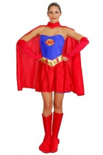 Costume Super Heroine Woman