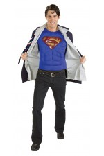 Veste Superman Torse 3D