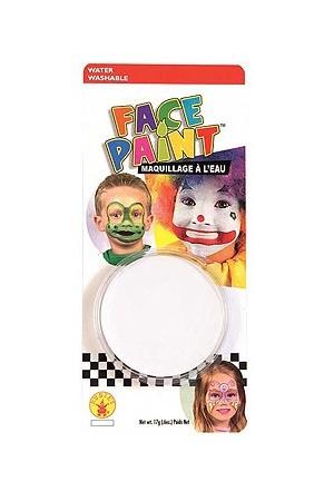 Maquillage deguisement visage fard blanc - Maquillage blanc visage ...