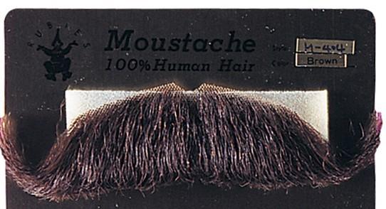 moustache postiche professionnelle