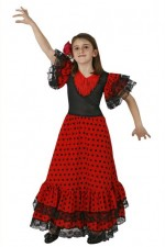 Robe Flamenco Fille