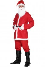 Costume de Père Noel Traditionnel