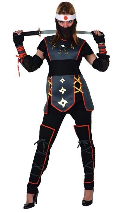 Déguisement de Guerrier Ninja Femme