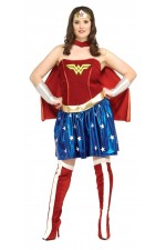 Costume adulte Wonder Woman™ plus size