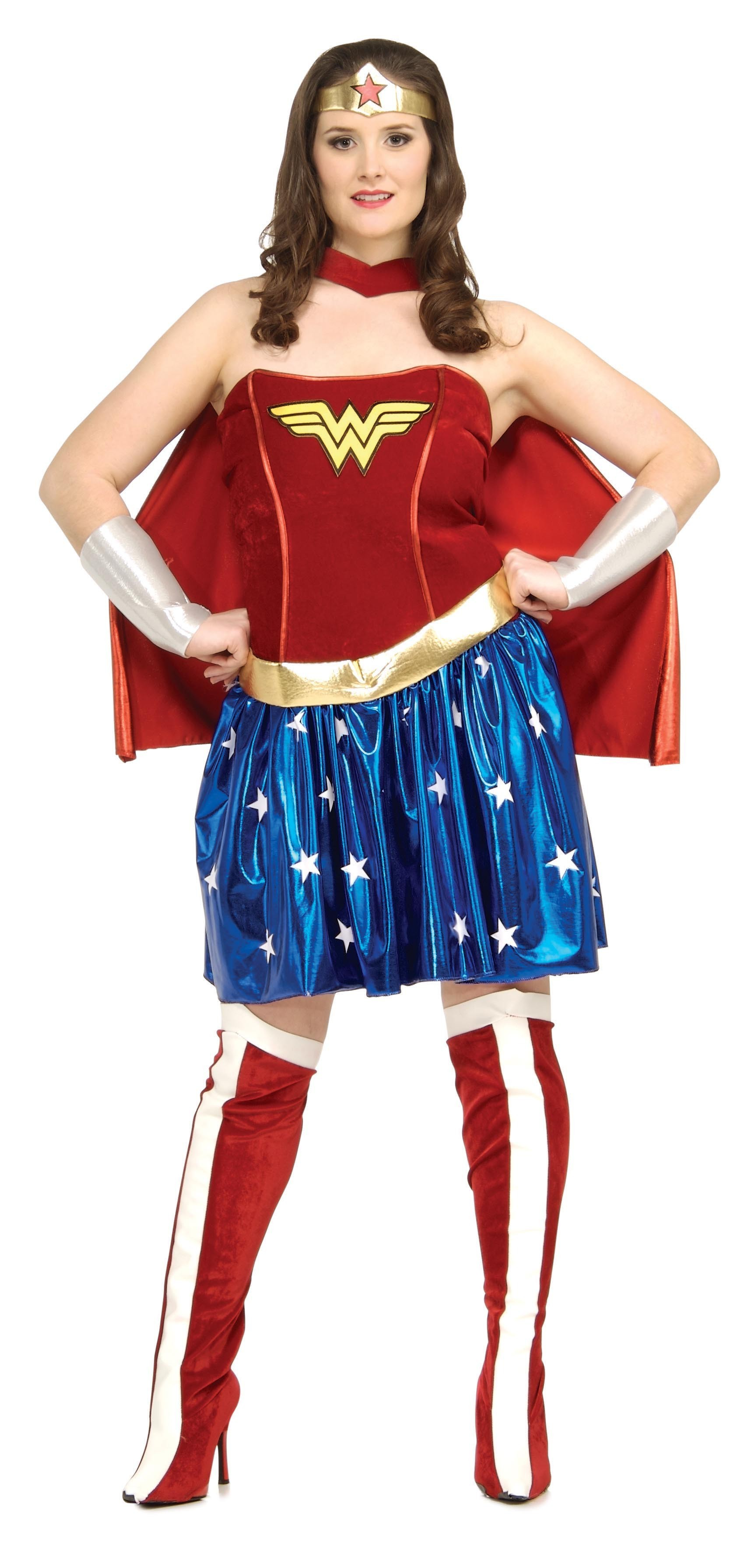 Déguisement adulte Wonder Woman™ plus size