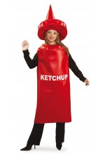 Costume Ketchup - Taille Unique