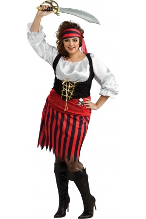 Costume pirate femme - Taille ++