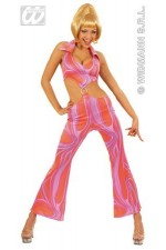 Costume tunique disco femme