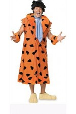 Costume adulte Fred Flinstone™ luxe - Taille Unique