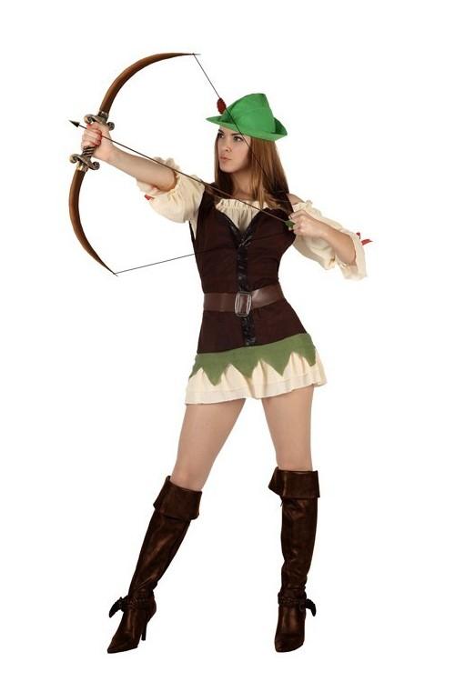 D guisement femme des bois vente de d guisements robin - Deguisement robin des bois fille ...