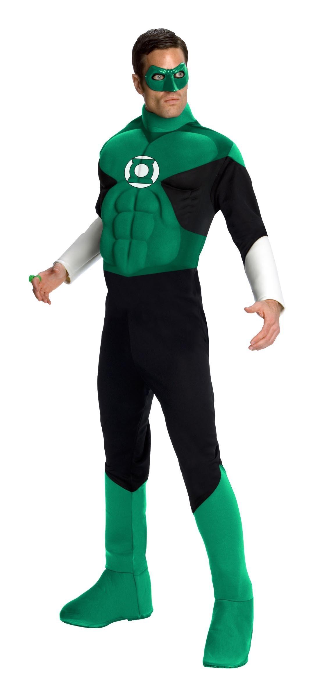 D guisement luxe green lantern vente de d guisements super h ros et d guisement luxe green - Super heros deguisement ...