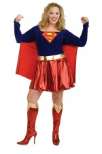 Costume adulte Super Girl™ plus size