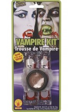 Kit Vampire avec crocs phosphorescents