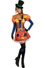 Costume femme clown - Taille Unique