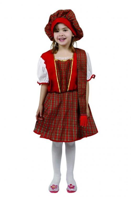 Costume ecossaise fille : Vente de déguisements