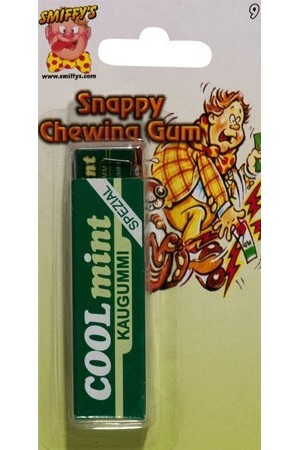 Chewing-gum tape-doigt