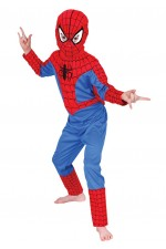 Costume Spiderman enfant cagoule