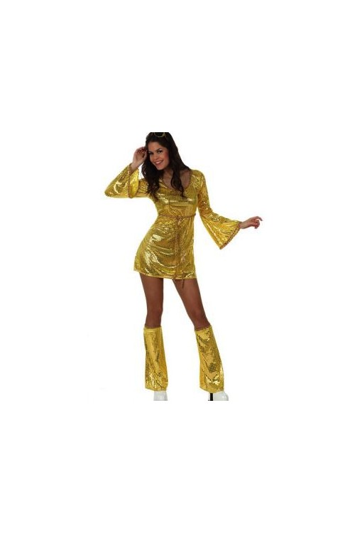 costume femme disco or vente de d guisements ann es 60 70 et costume femme disco or. Black Bedroom Furniture Sets. Home Design Ideas