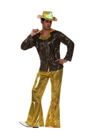 Costume disco or homme