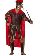 Costume guerrier romain rouge