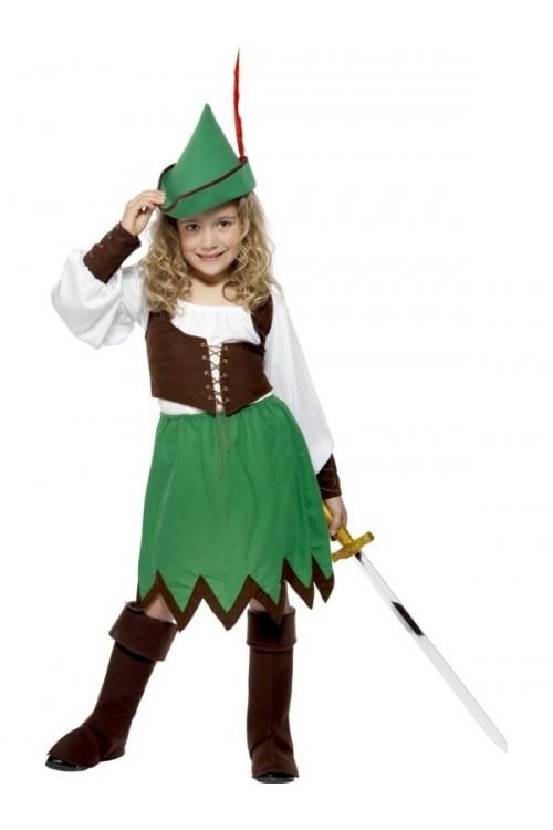 Costume de robin des bois fille et autres costumes d 39 aventures - Deguisement enfant robin des bois ...