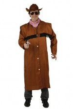 Déguisement Cowboy Long Manteau